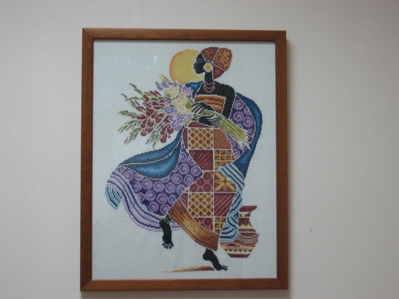 Африканка. Рукодельный конкурс 'Женские образы в рукоделии'