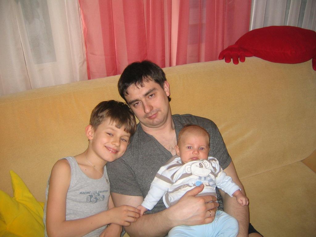 Мои мужчины..... Братишки и сестренки
