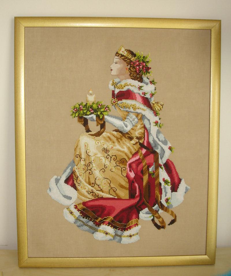 Royal Holiday (Christmas Queen). Рукодельный конкурс 'Женские образы в рукоделии'