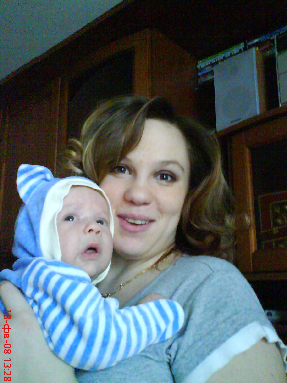 я и сына ))). Вместе с мамой