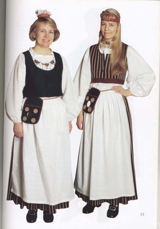 национальный костюм финнов картинки фильма