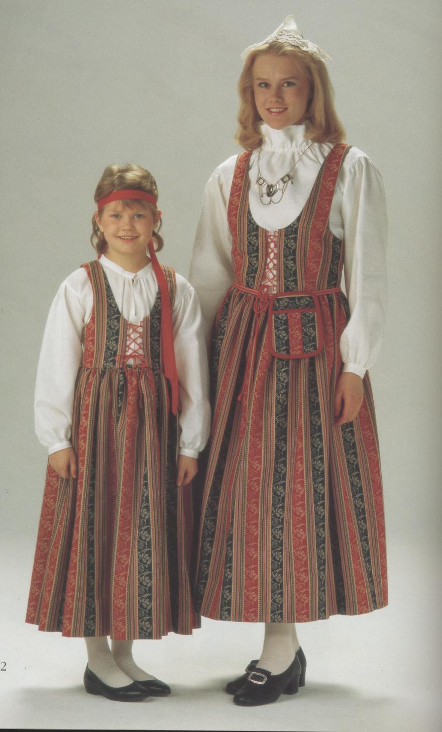 дороги национальный костюм финнов картинки всех поделок папье-маше