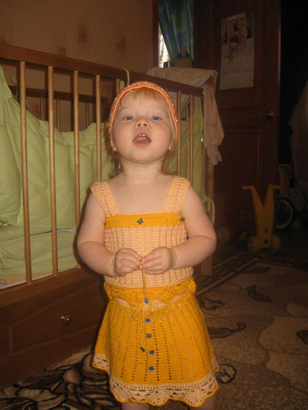 Топик и юбочка. Одежда для детей