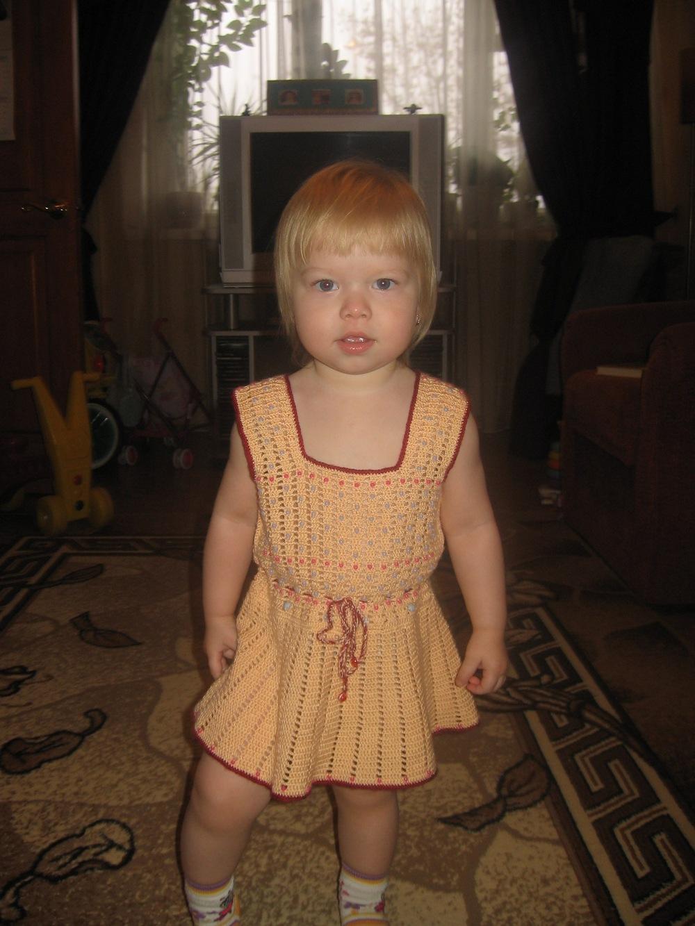 Платьице. Одежда для детей