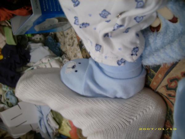ношки мамы и ношки крошки. Пяточки