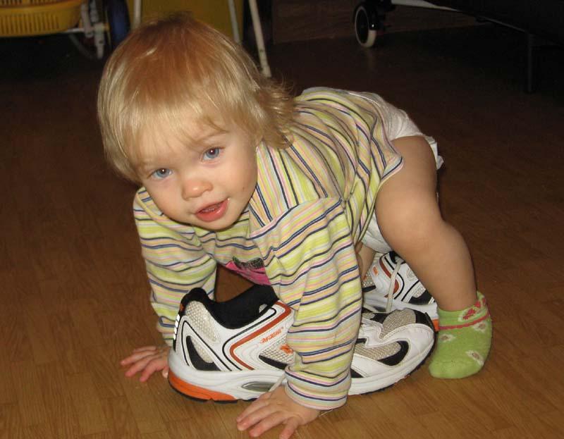 Маленькая футболистка. Спортивная семья