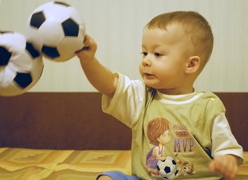 Три мяча. Спортивная семья