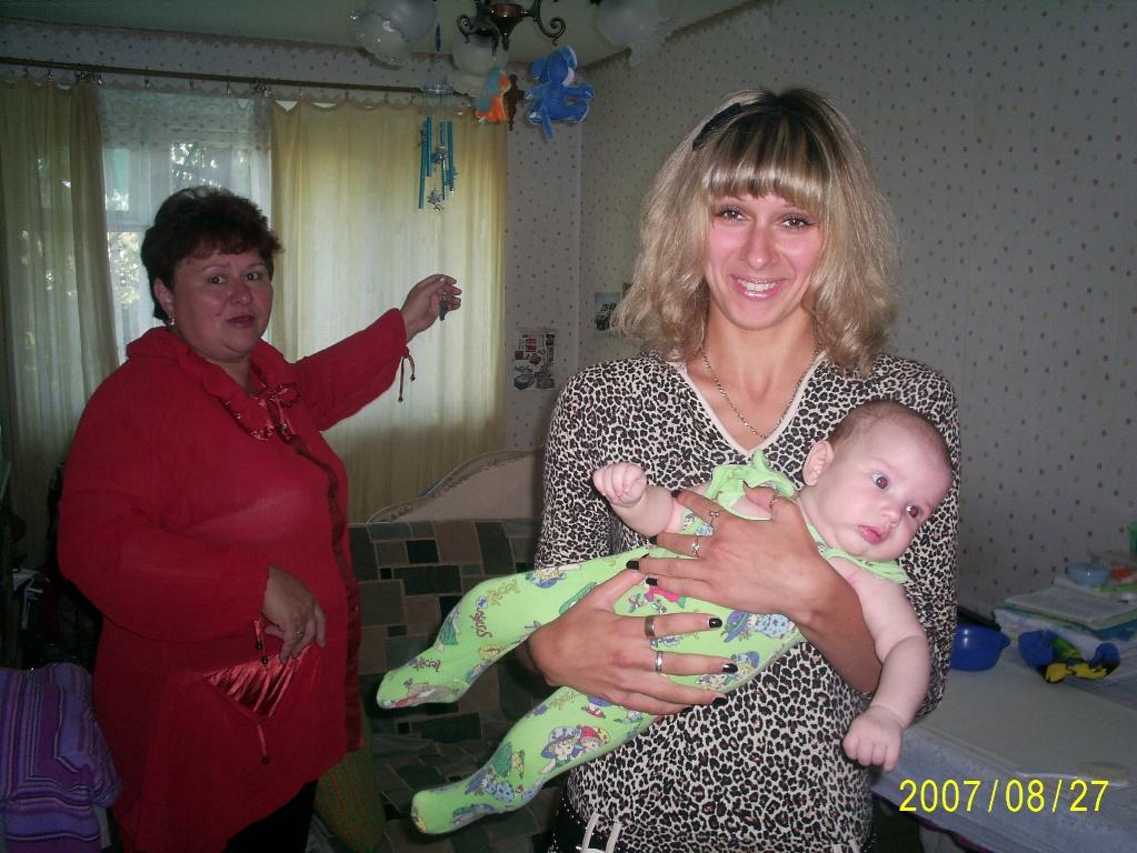 Бабушка, тетя и Я!. Детки и предки