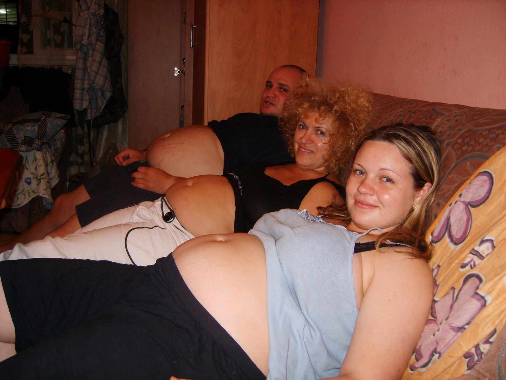 zagadka.... Беременный живот