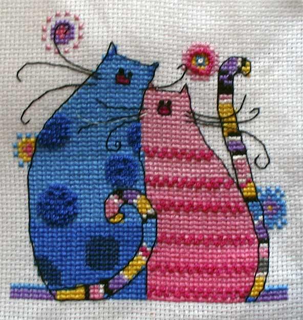 Коты Антонины. Животные