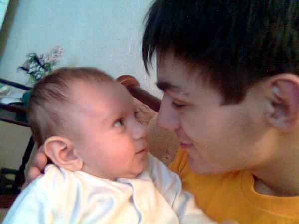 Сынуля и папуля. Вместе с папой