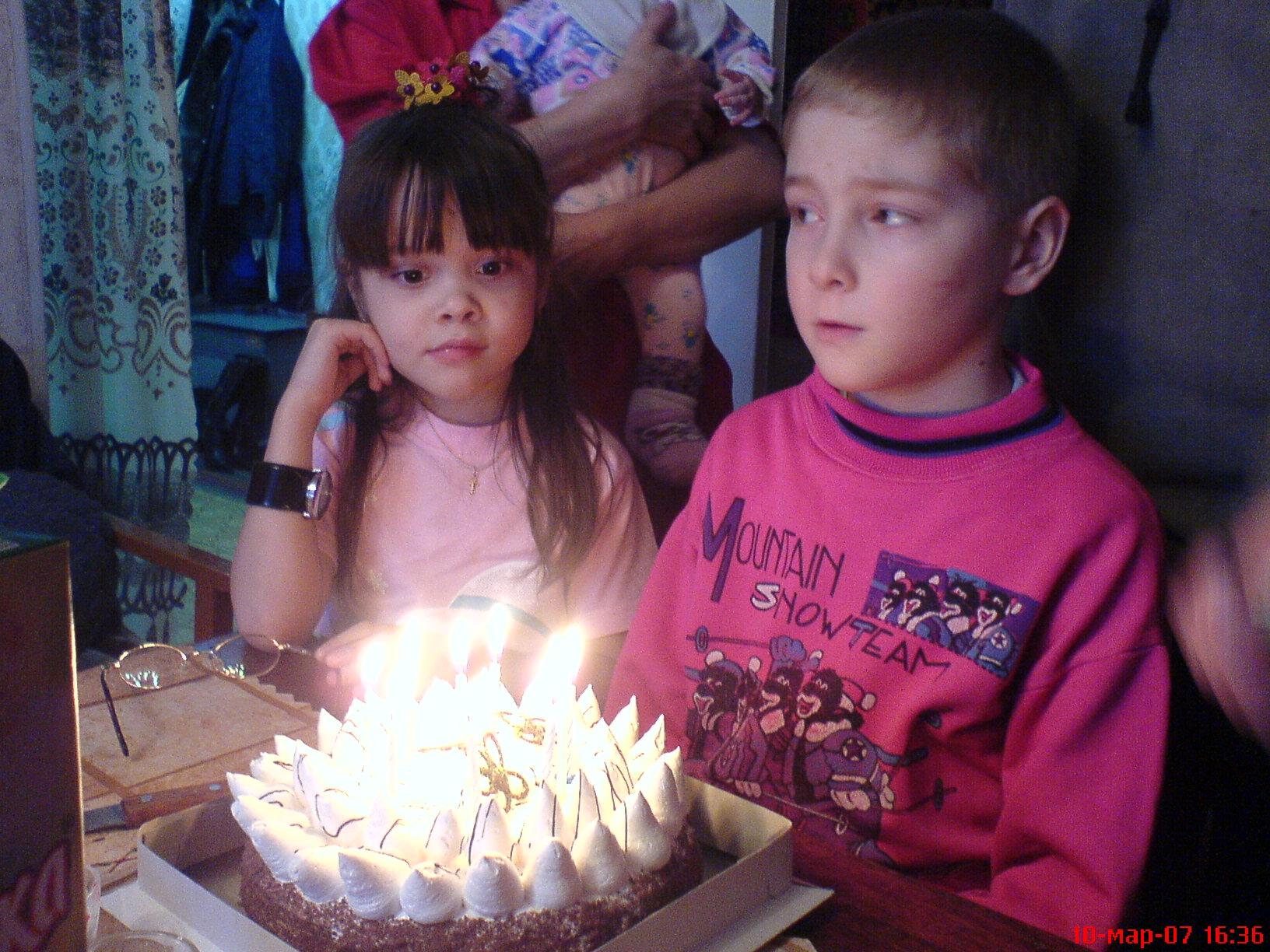 День рождения племянника.. Братишки и сестренки