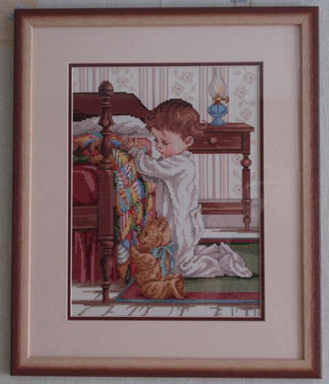 Молитва на ночь. Изображения детей
