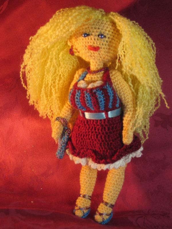 Сьюзи. Вязаные игрушки