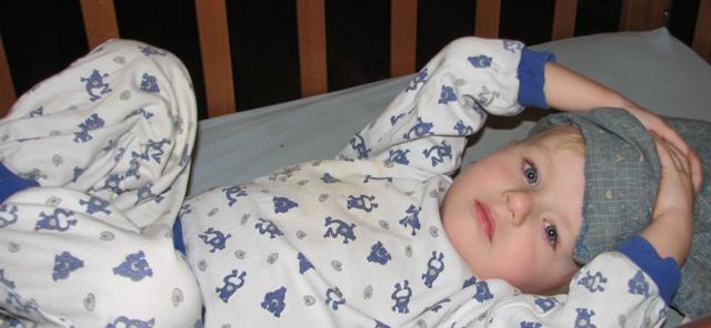 Перед сном. Спящие дети