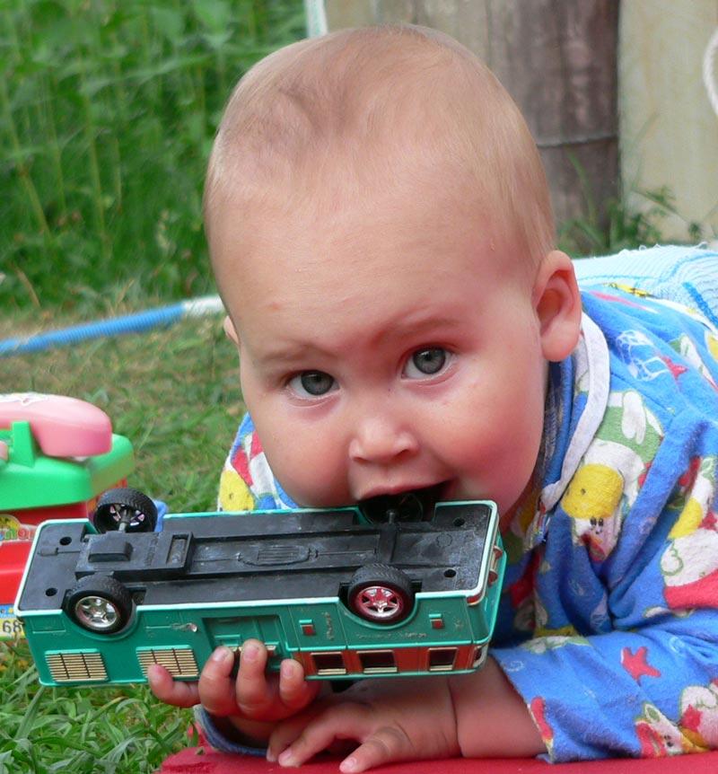 с этого начинается страсть к автомобилям.