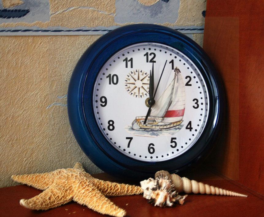 Часы.. Декупаж