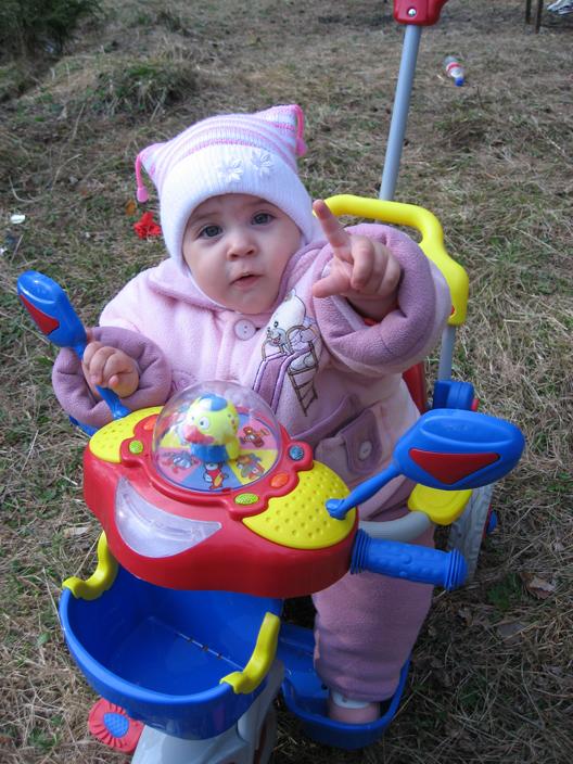 Софье 1 год. Мобильные малыши
