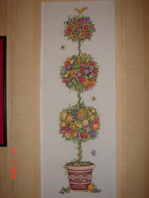 Дерево счастья (высота 92 см). Растения (в основном цветы)