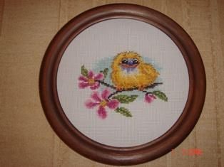 Улыбающийся птенец. Птицы