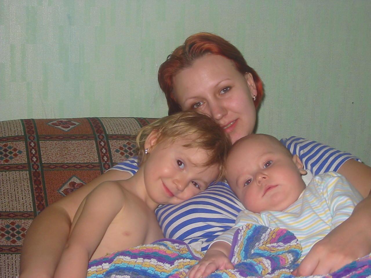 Вместе с мамой