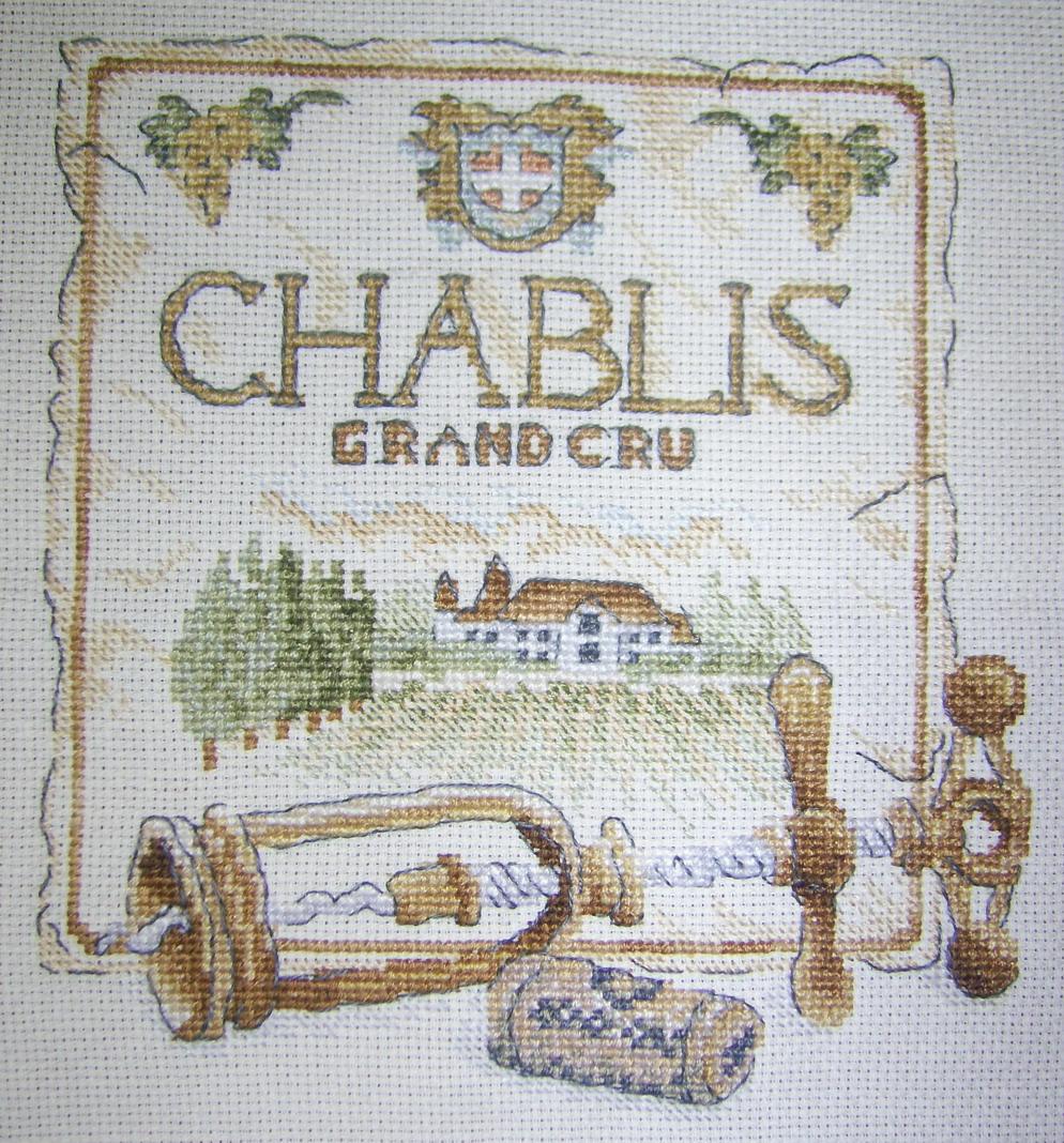 Chablis DMC. Вышитые открытки