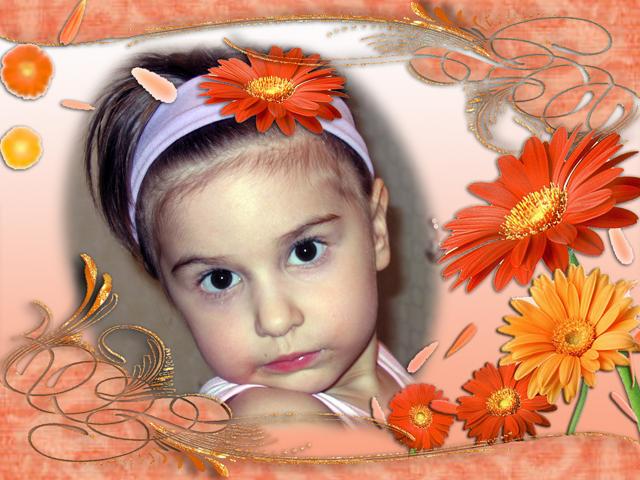 Моя малышка.. Фотоколлажи, обработанные фото