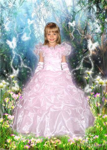Принцесса. Дети: художественное фото