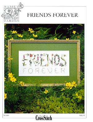 Friends Forever . Вышивка: алфавит, календари, метрики