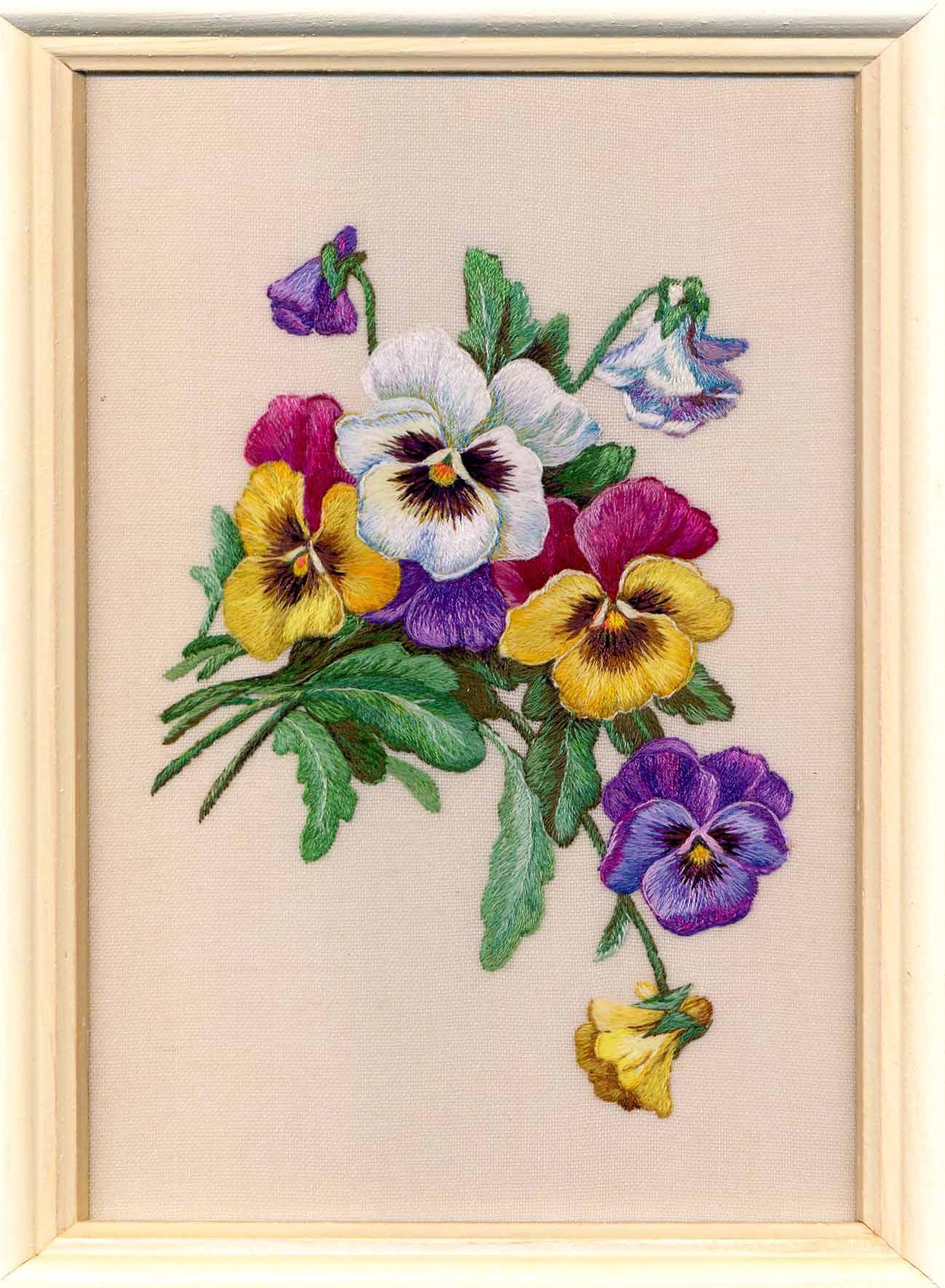 Старая открытка. Растения (в основном цветы)