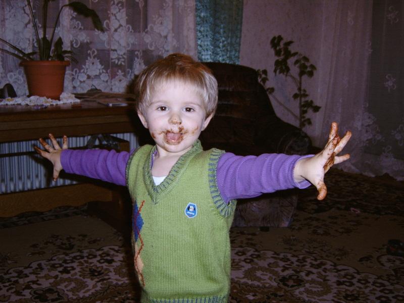 я шоколадный мальчик!. Дошколята