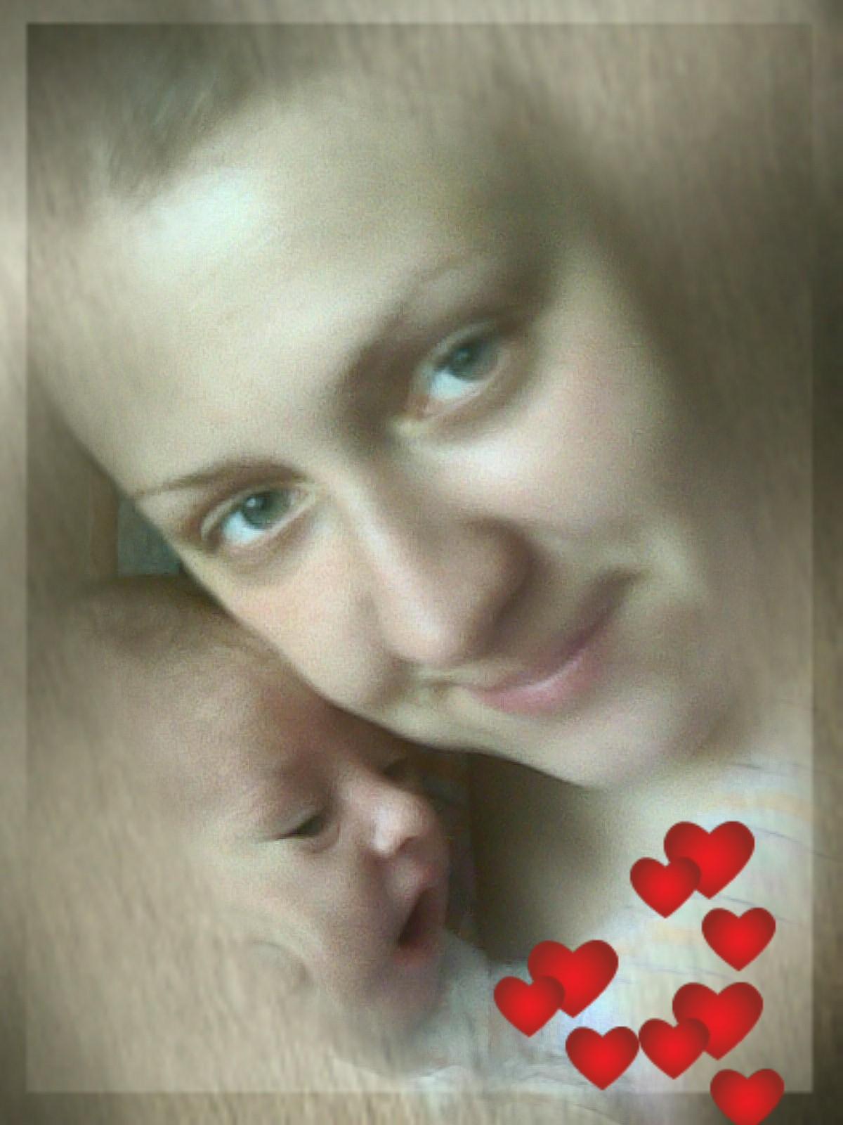 Даниэль с мамой. Вместе с мамой