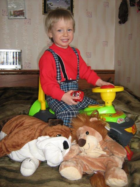 миаимпрет. Дети с игрушками