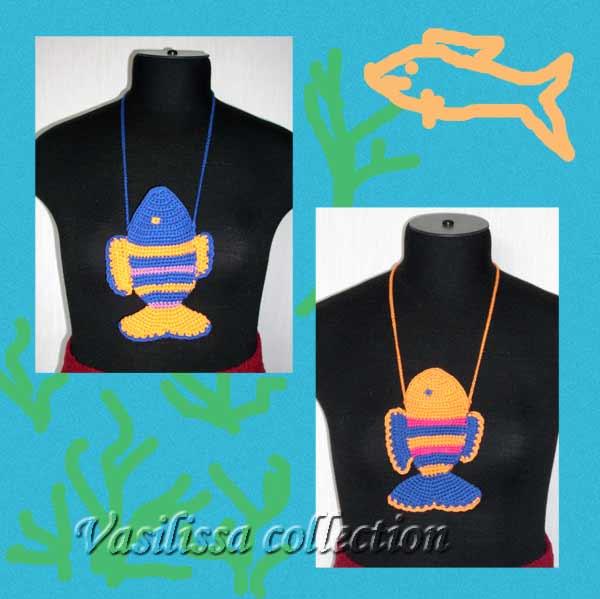 одежка для мобильничков или мечта рыболова :). Вязаные поделки