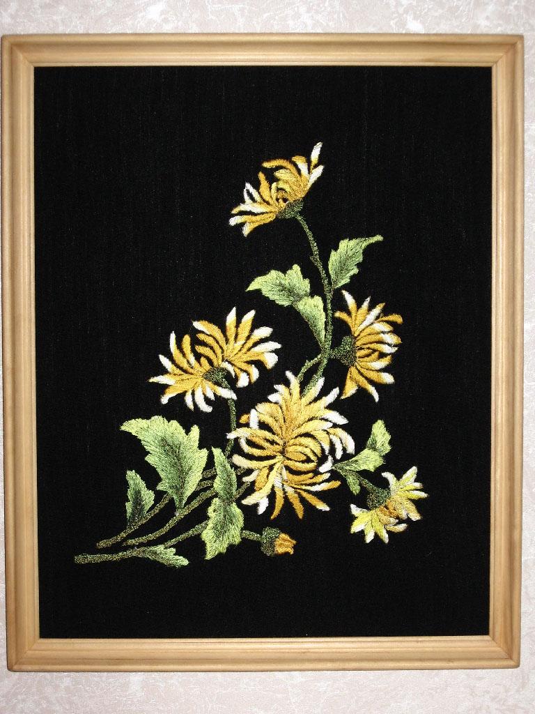 Хризантемы. Растения (в основном цветы)