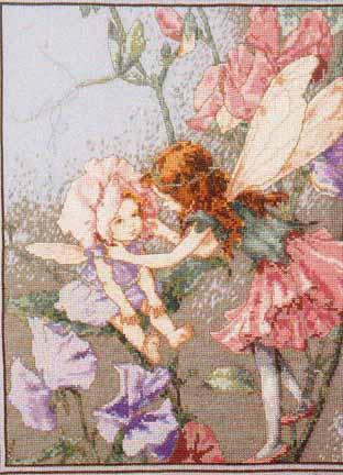 Фея гороха. Феи,  эльфы, бабочки и др. насекомые