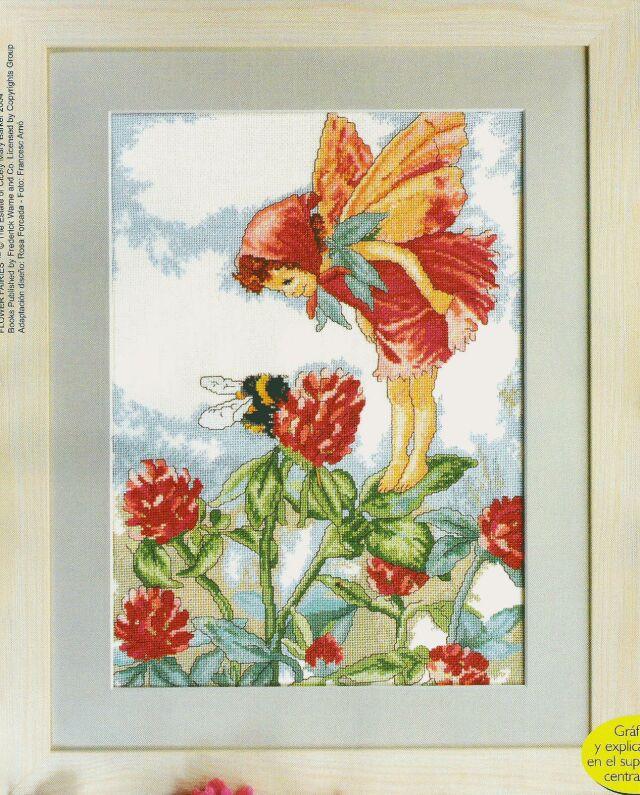 Фея клевера. Феи,  эльфы, бабочки и др. насекомые
