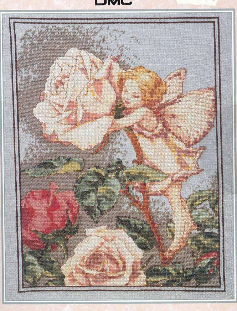 Фея розы. Феи,  эльфы, бабочки и др. насекомые