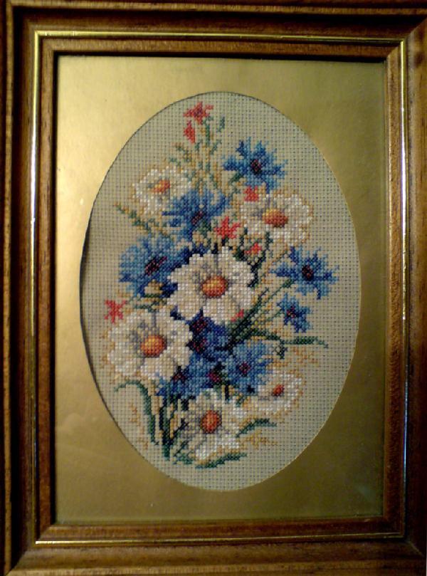 'Бутоньерка с ромашками' (ЗР). Растения (в основном цветы)