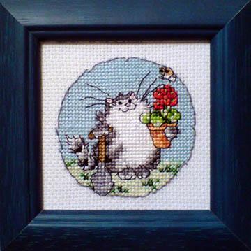 'Кот-садовод'. Животные