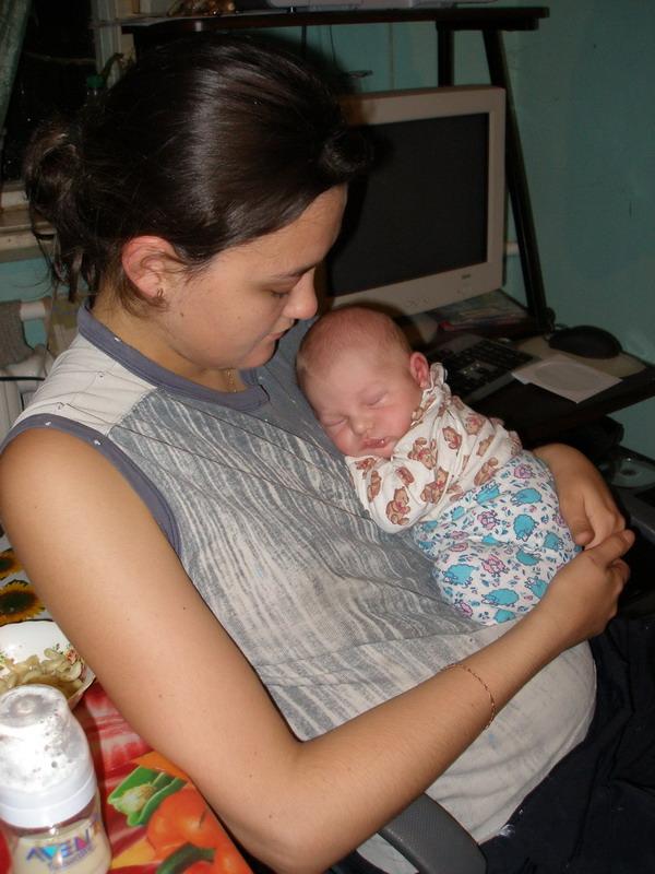 Как с мамой СЛАДКО спится!!!. Новорожденные
