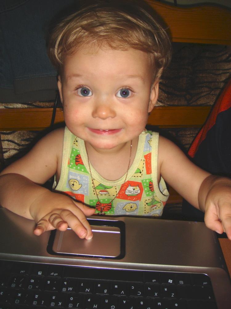 Борозжу просторы глобальной сети.... Дети за компьютером