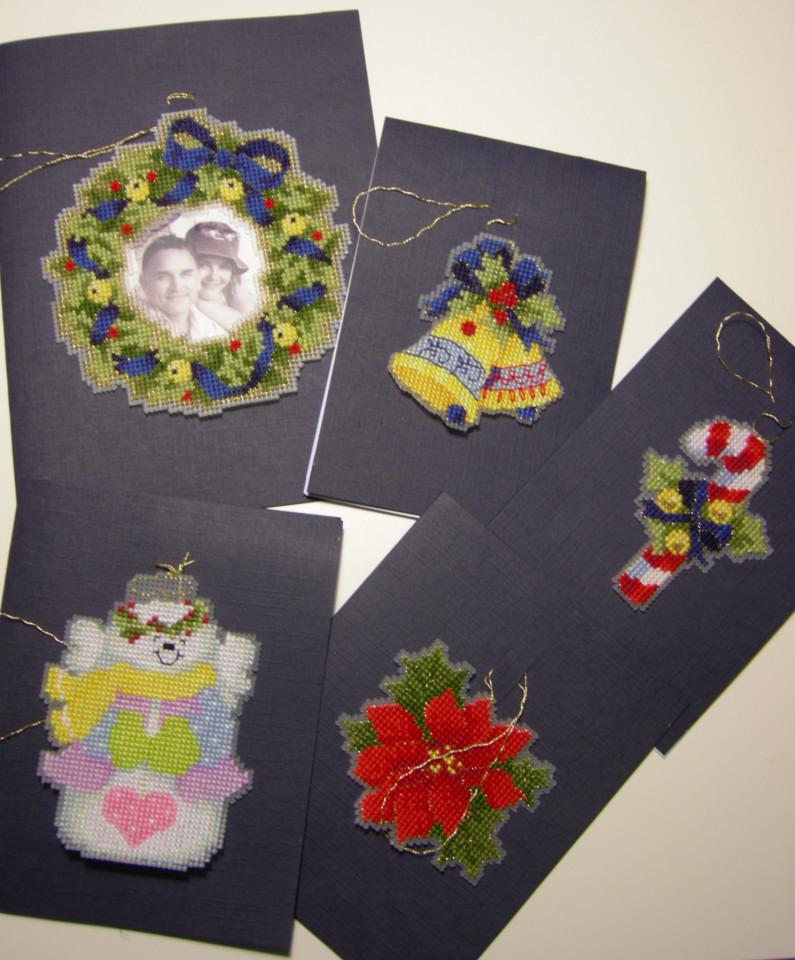 Новогодние открытки (2007 год). Рождественские и новогодние мотивы