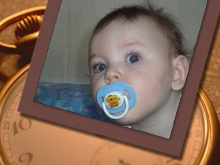 Портрет Арсения. Мобильные малыши
