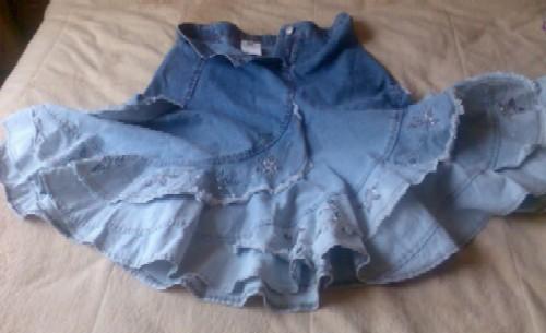 Джинсовая юбка 46 разм. Одежда