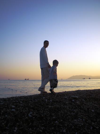 Прогулка по берегу Черного моря. Я люблю гулять