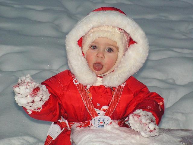 Мне морозец не почем!!!. Я люблю гулять