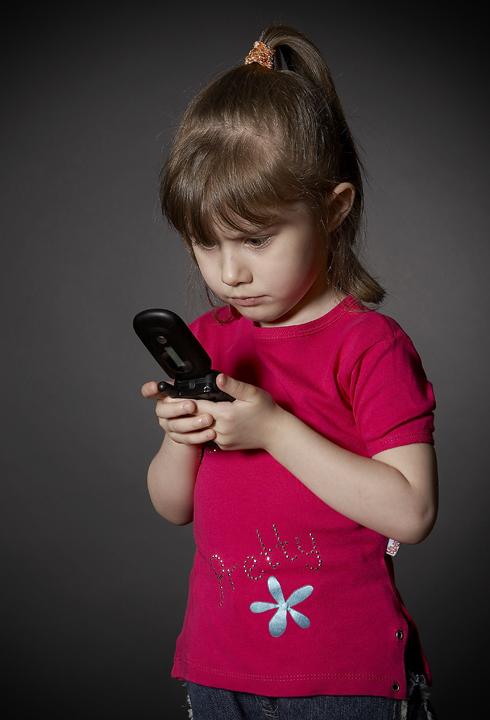 Кто же это звонил?. Мобильные малыши