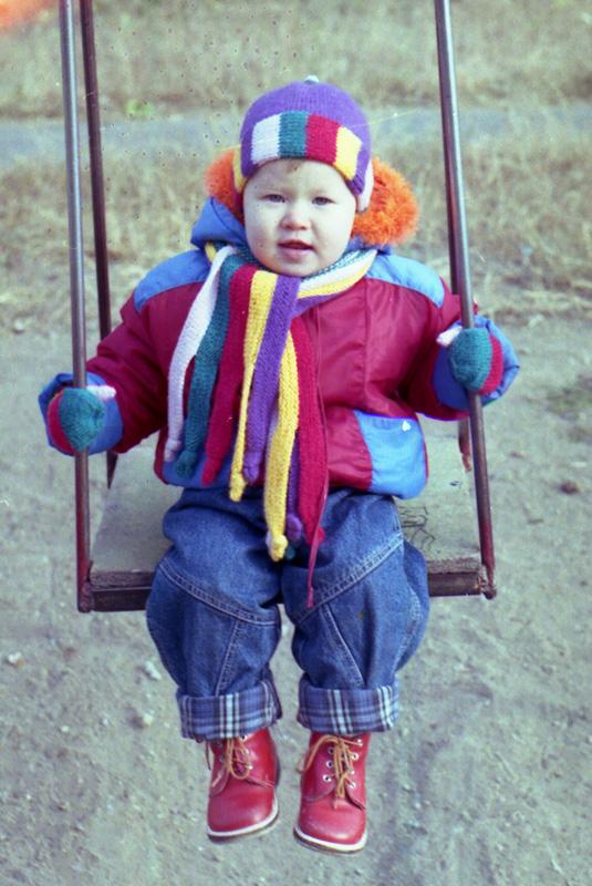 Шапочка и шарфик. 2000 год. Одежда для детей