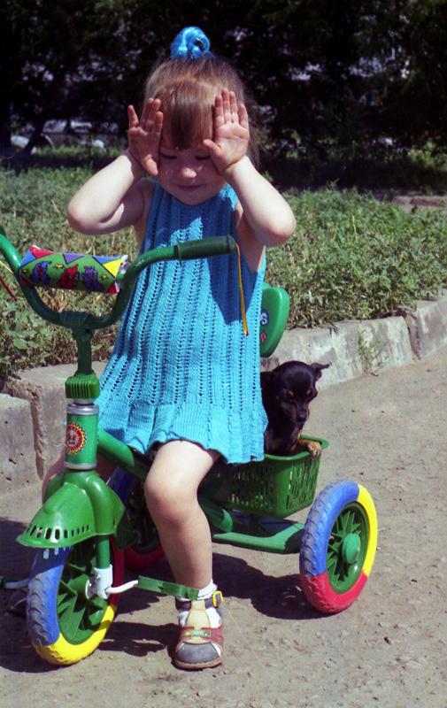 Платьице. 2001 г.. Одежда для детей